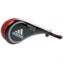 Adidas® Double Hand Paddle - Black/Red Kick Target