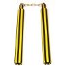 Yellow/black nunchaku Rubber